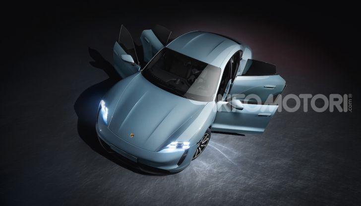 Porsche Taycan 4S, con la Performance Plus si arriva a 571CV - Foto 7 di 10