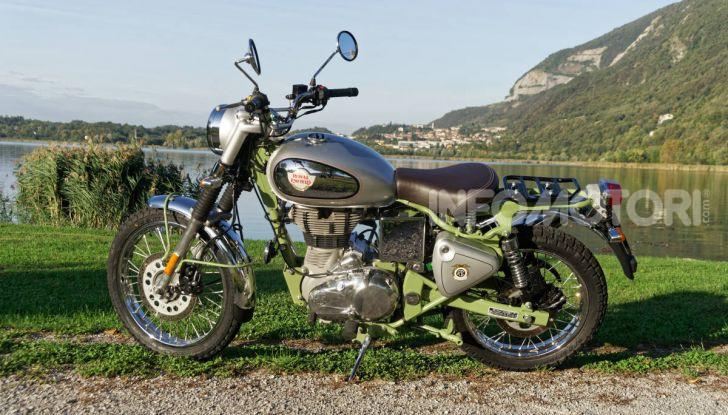 Prova Royal Enfield Bullet Trials 500, voglia d'avventura per la moto più longeva al mondo! - Foto 32 di 53
