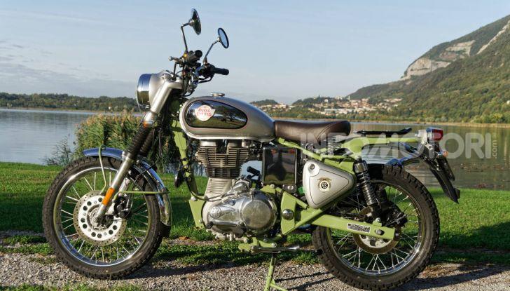 Prova Royal Enfield Bullet Trials 500, voglia d'avventura per la moto più longeva al mondo! - Foto 37 di 53