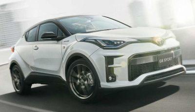 Toyota C-HR GR Sport 2020: il crossover sportivo Gazoo Racing