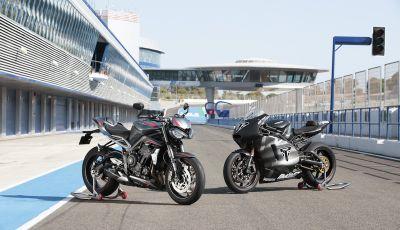 Triumph Street Triple RS 2020: più sportiva e affilata con un nuovo doppio faro