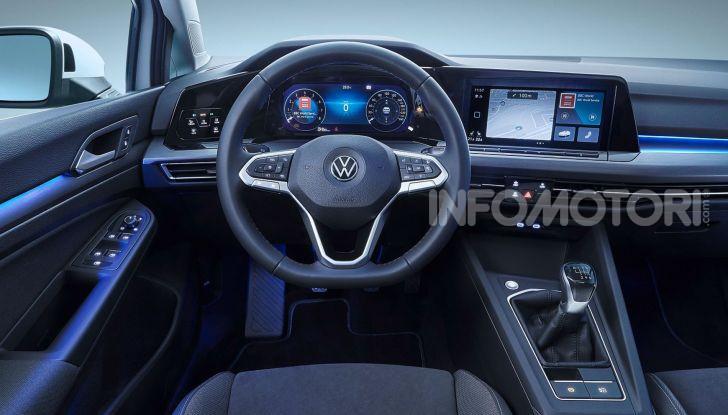 Nuova Volkswagen Golf 8 2020: prezzi, motori e versioni - Foto 11 di 26