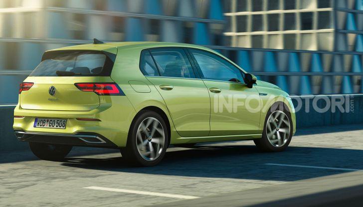 Nuova Volkswagen Golf 8 2020: prezzi, motori e versioni - Foto 9 di 26
