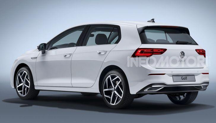 Nuova Volkswagen Golf 8 2020: prezzi, motori e versioni - Foto 17 di 26