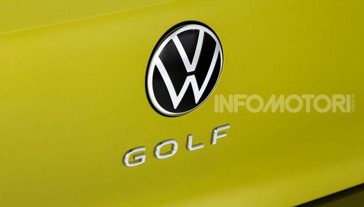 Nuova Volkswagen Golf 8 2020: prezzi, motori e versioni - Foto 18 di 26