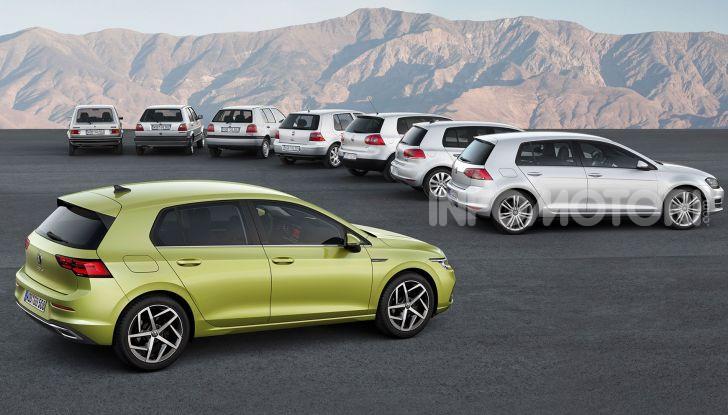 Nuova Volkswagen Golf 8 2020: prezzi, motori e versioni - Foto 5 di 26