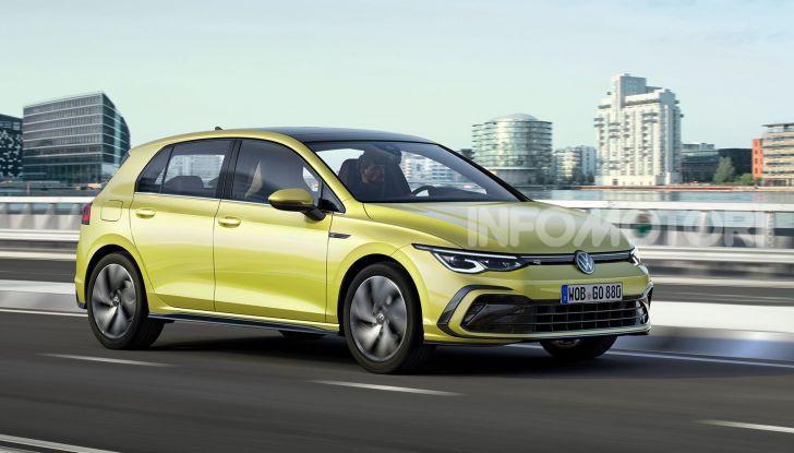 Nuova Volkswagen Golf 8 2020: prezzi, motori e versioni - Foto 1 di 26