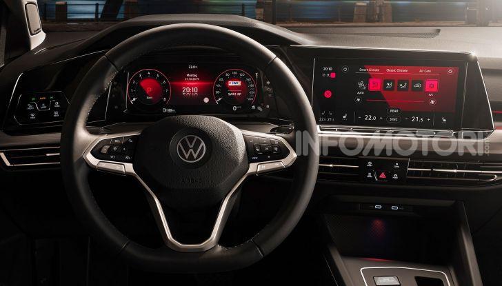 Nuova Volkswagen Golf 8 2020: prezzi, motori e versioni - Foto 19 di 26