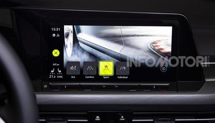 Nuova Volkswagen Golf 8 2020: prezzi, motori e versioni - Foto 23 di 26