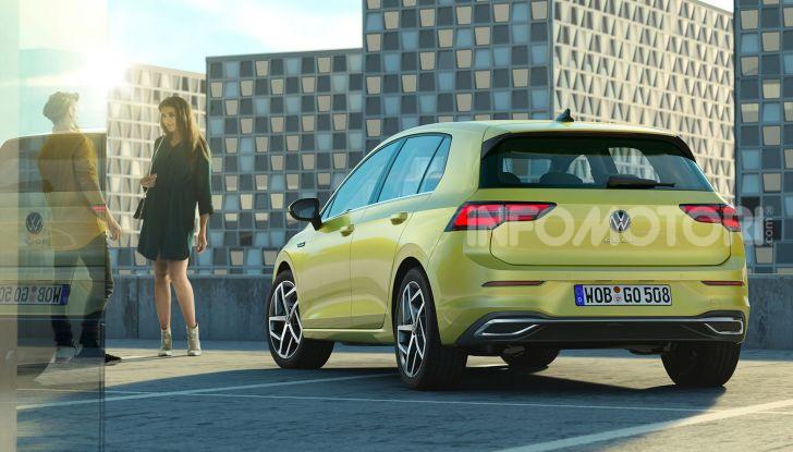 Nuova Volkswagen Golf 8 2020: prezzi, motori e versioni - Foto 2 di 26