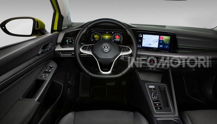 Nuova Volkswagen Golf 8 2020: prezzi, motori e versioni - Foto 10 di 26