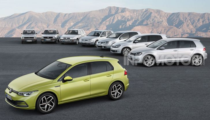 Nuova Volkswagen Golf 8 2020: prezzi, motori e versioni - Foto 4 di 26