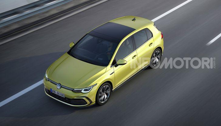 Nuova Volkswagen Golf 8 2020: prezzi, motori e versioni - Foto 8 di 26
