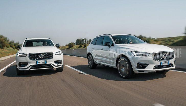 Provata la gamma Volvo ibrida: mild hybrid e plug-in aspettando la XC40 elettrica - Foto 14 di 71