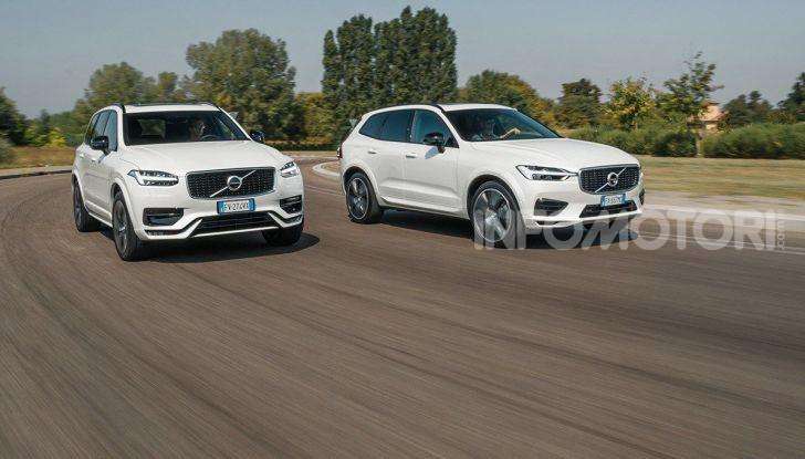 Provata la gamma Volvo ibrida: mild hybrid e plug-in aspettando la XC40 elettrica - Foto 15 di 71