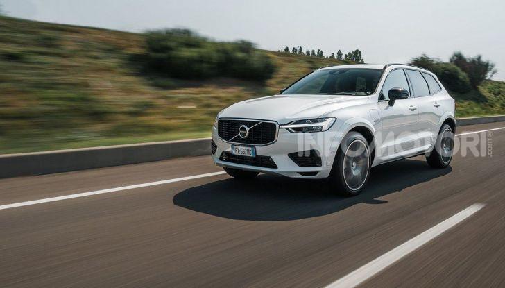 Provata la gamma Volvo ibrida: mild hybrid e plug-in aspettando la XC40 elettrica - Foto 42 di 71