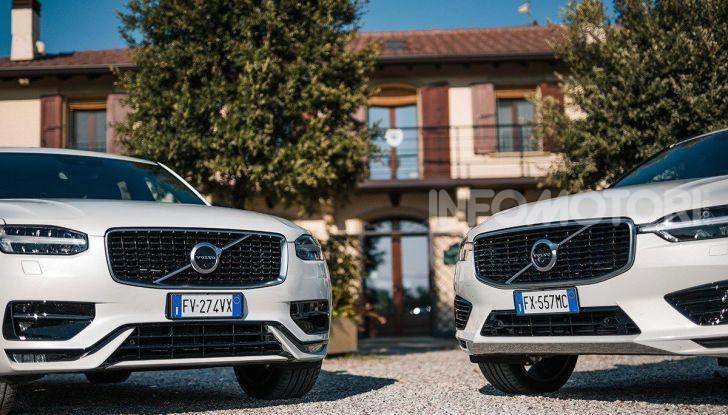 Provata la gamma Volvo ibrida: mild hybrid e plug-in aspettando la XC40 elettrica - Foto 13 di 71