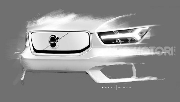 Volvo XC40: il SUV a batterie avrà un design rivoluzionario - Foto 1 di 5