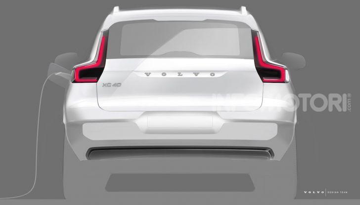 Volvo XC40: il SUV a batterie avrà un design rivoluzionario - Foto 5 di 5