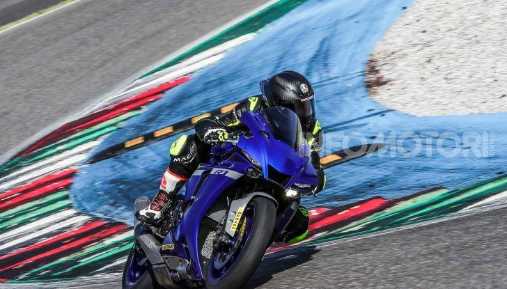 Prova Yamaha R1 ed R1M 2020, tante piccole novità per una moto quasi perfetta - Foto 14 di 38