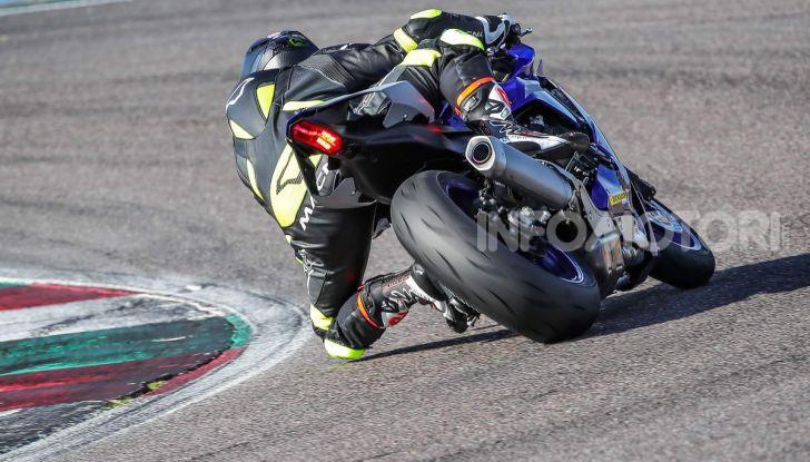 Prova Yamaha R1 ed R1M 2020, tante piccole novità per una moto quasi perfetta - Foto 22 di 38