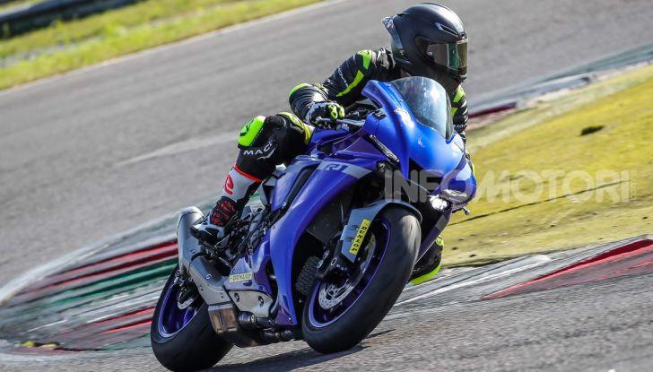 Prova Yamaha R1 ed R1M 2020, tante piccole novità per una moto quasi perfetta - Foto 27 di 38