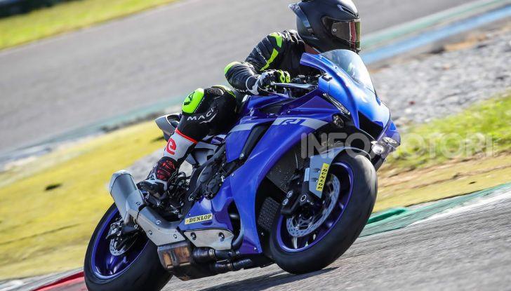 Prova Yamaha R1 ed R1M 2020, tante piccole novità per una moto quasi perfetta - Foto 28 di 38