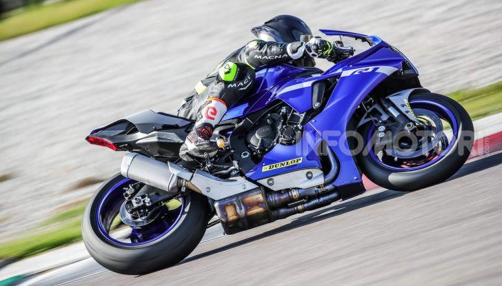 Prova Yamaha R1 ed R1M 2020, tante piccole novità per una moto quasi perfetta - Foto 32 di 38