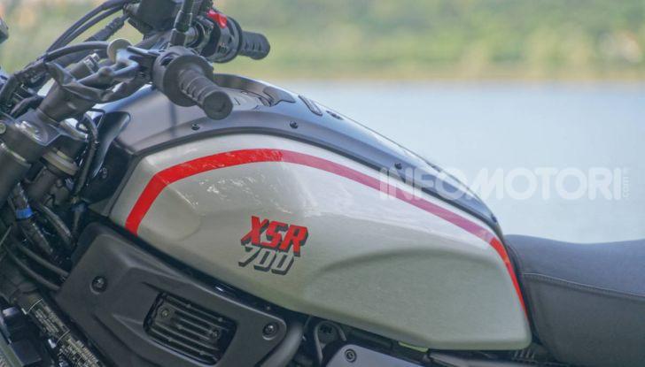 Prova Yamaha XSR 700 XTribute, la Sport Heritage omaggia l'XT di Rambo - Foto 37 di 37