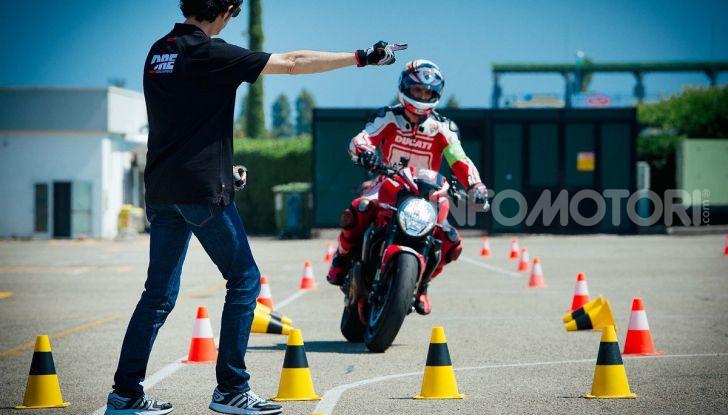 Corso di guida sicura moto Ducati Riding Experience