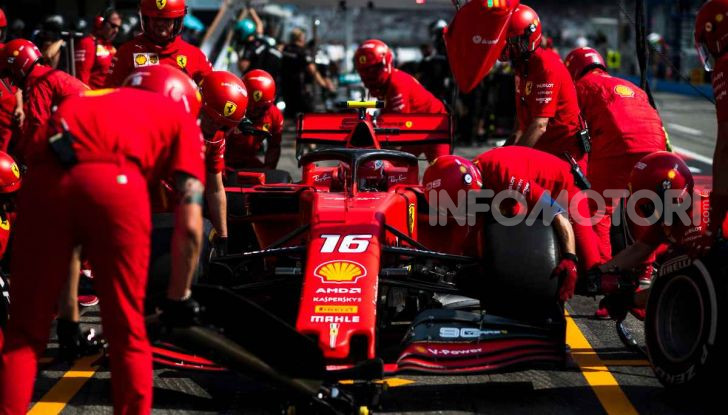 F1 2019 Charles Leclerc Scuderia Ferrari Pitstop