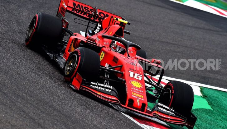 F1 2019 GP Giappone Suzuka Charles Leclerc