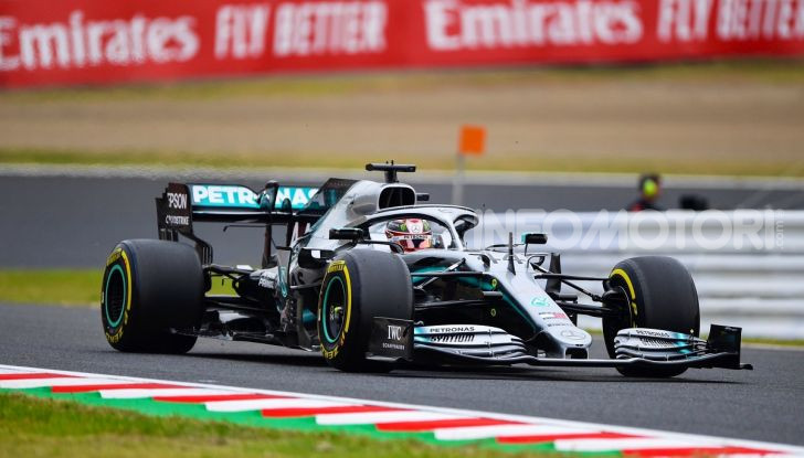 F1 2019 GP Giappone Suzuka Lewis Hamilton Mercedes