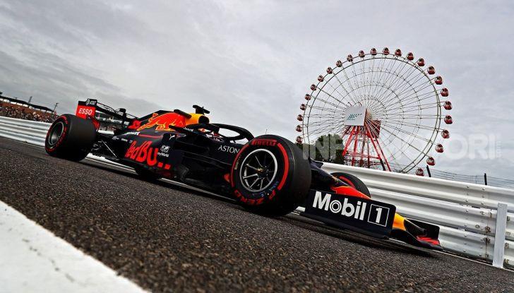 F1 2019 GP Giappone Suzuka Red Bull Racing