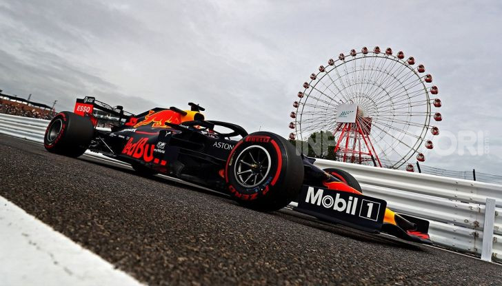 F1 2019 GP Giappone Suzuka Red Bull Racing