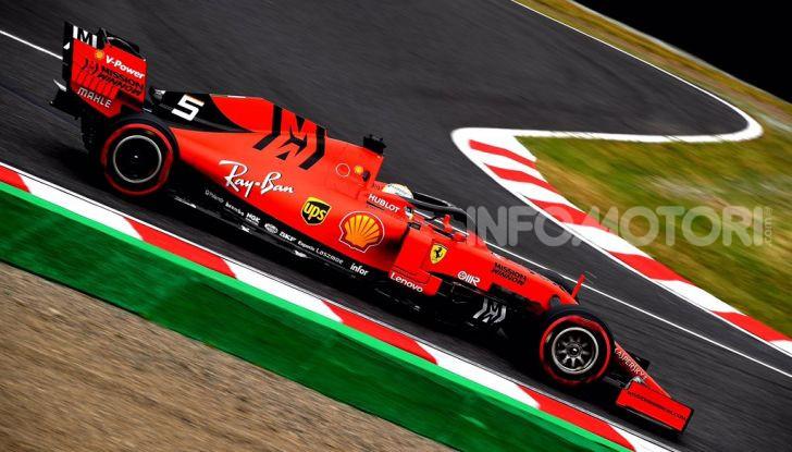 F1 2019 GP Giappone Suzuka Sebastian Vettel