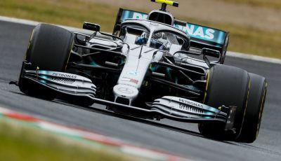 F1 2019, GP del Giappone: Bottas e la Mercedes anticipano le qualifiche, la Ferrari quarta con Leclerc