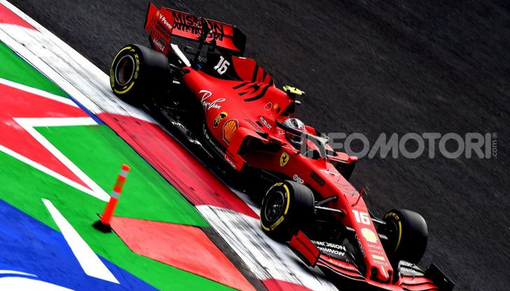 F1 2019 GP Messico Charles Leclerc