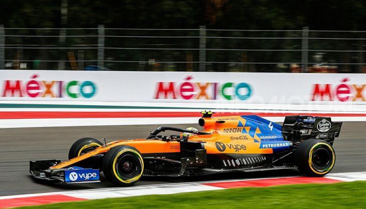 F1 2019 GP Messico Lando Norris