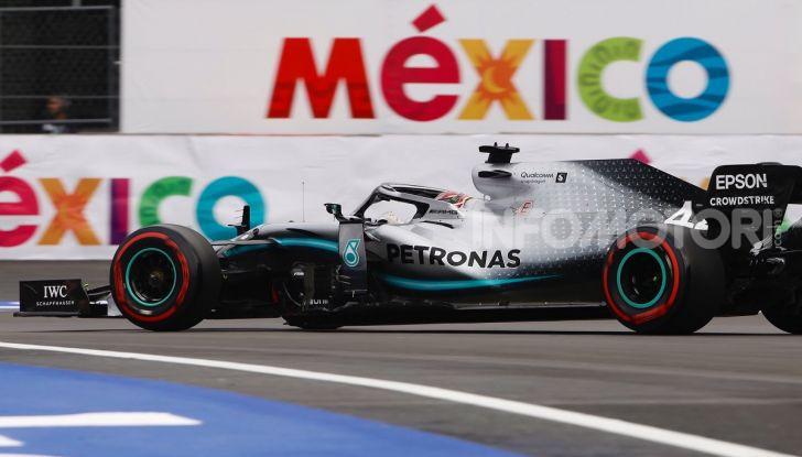 F1 2019 GP Messico Lewis Hamilton