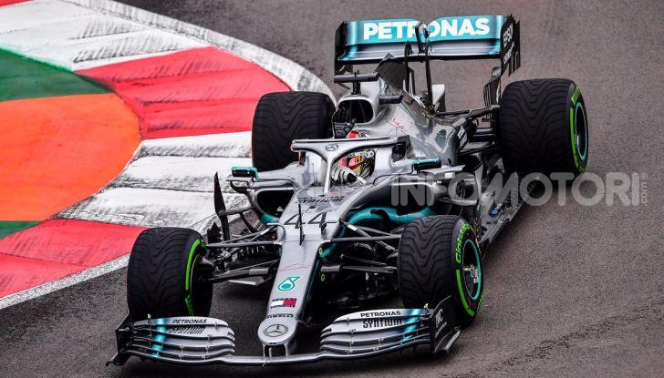 F1 2019 GP Messico Lewis Hamilton Mercedes