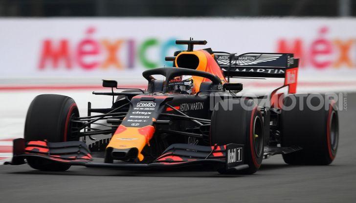 F1 2019 GP Messico Max Verstappen