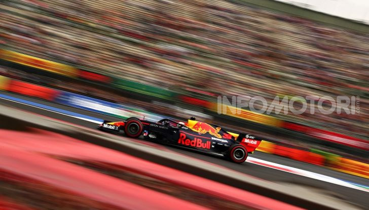F1 2019 GP Messico Max Verstappen Red Bull Racing