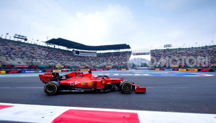 F1 2019 GP Messico Sebastian Vettel