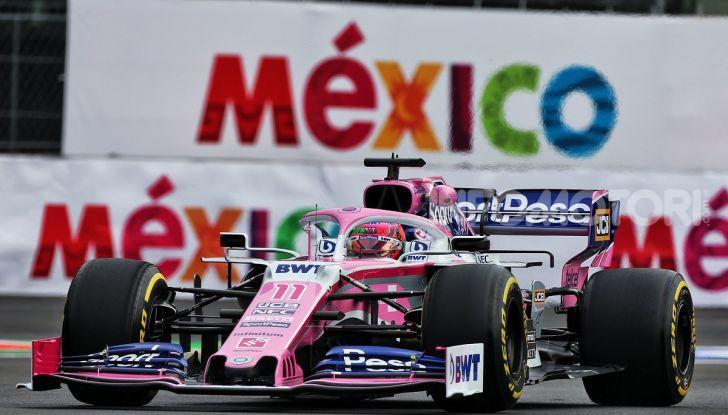 F1 2019 GP Messico Sergio Perez
