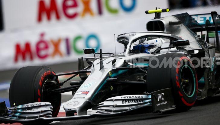 F1 2019 GP Messico Valtteri Bottas