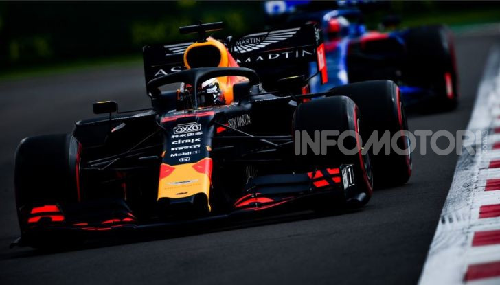 F1 2019 Messico Max Verstappen