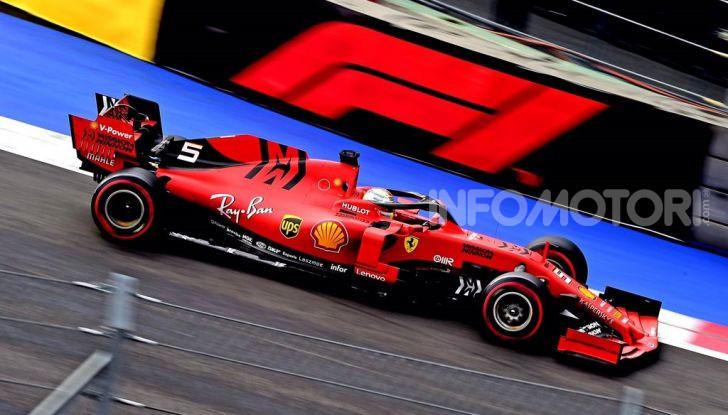 F1 2019 Messico Sebastian Vettel