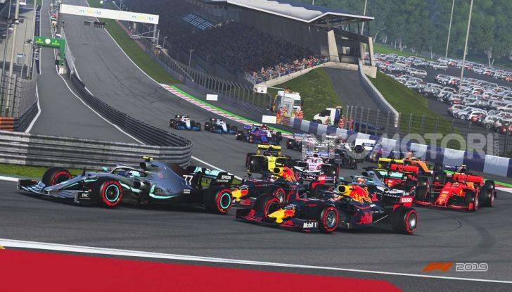F1 2019 game Red Bull Ring