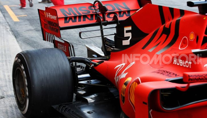 F1 2019 Scuderia Ferrari SF90 Engine Cover